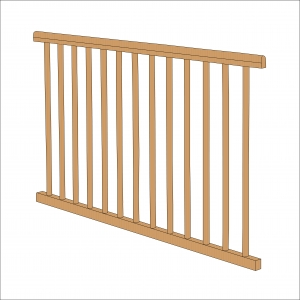 Sydney Compact Cot Side (Natural)