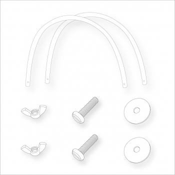 Moses Basket Fittings Kit 3